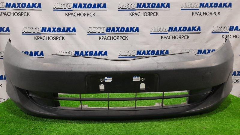 Бампер Honda Partner GJ3 L15A 2006 передний Передний, некрашеный. пошоркан.
