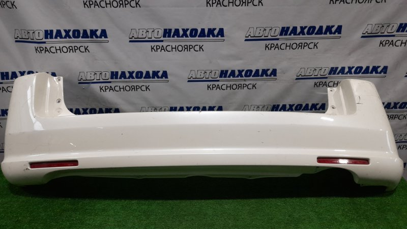 Бампер Honda Mobilio Spike GK1 L15A 2005 задний Задний, с катафотами, пошоркан. / второй рестайлинг