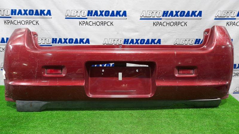 Бампер Suzuki Kei HN22S K6A 1999 задний 24002 задний, с катафотами, пошоркан.