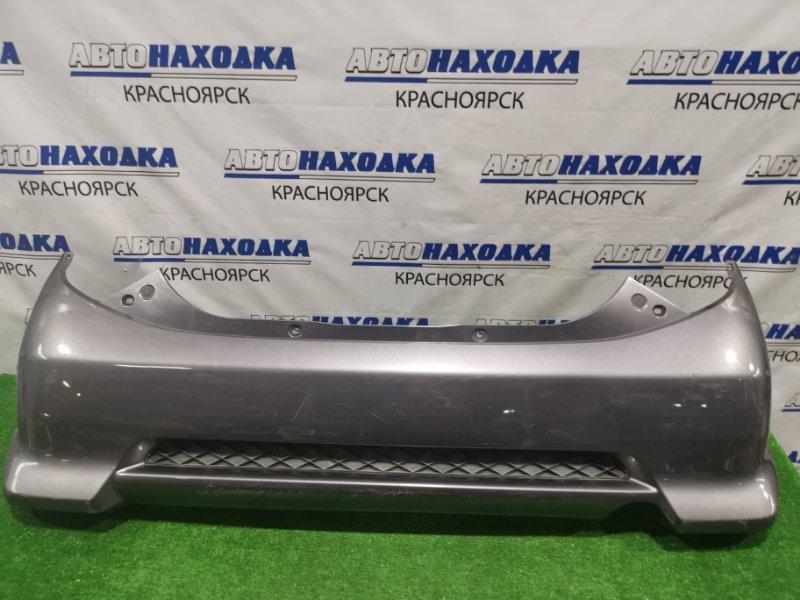 "Бампер Honda Life JB5 P07A 2006 задний задний, комплектация ""DIVA"", пошоркан."