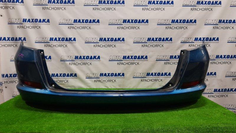 Бампер Honda Fit Shuttle GP2 LDA 2011 задний Задний, с катафотами, пошоркан.