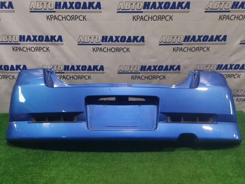 "Бампер Suzuki Mr Wagon MF21S K6A 2001 задний задний, пошоркан. Комплектация ""Sport"""