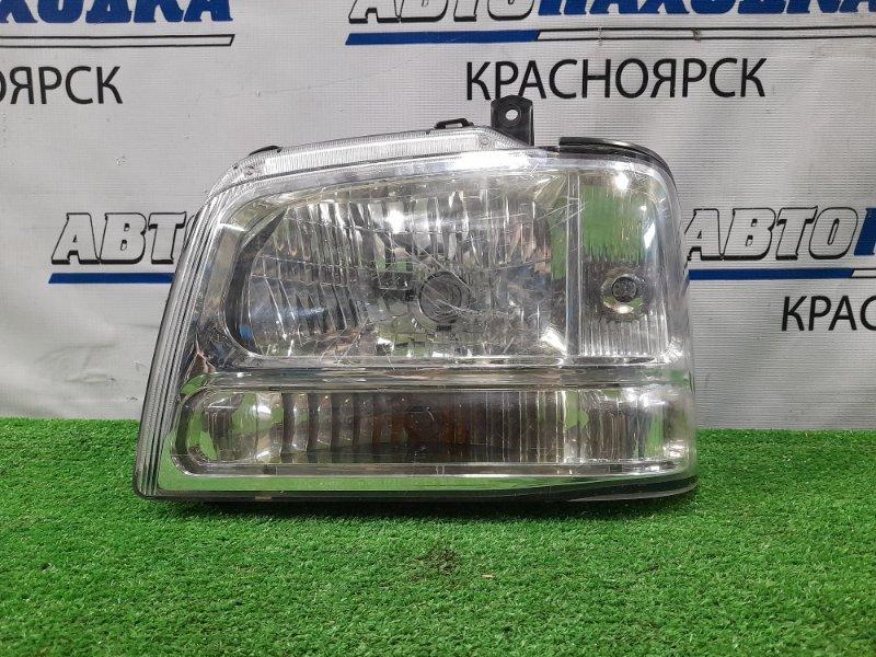 Фара Suzuki Every DA52W 1999 передняя левая 100-32673 левая, галоген, 100-32673, царапинки, под полировку