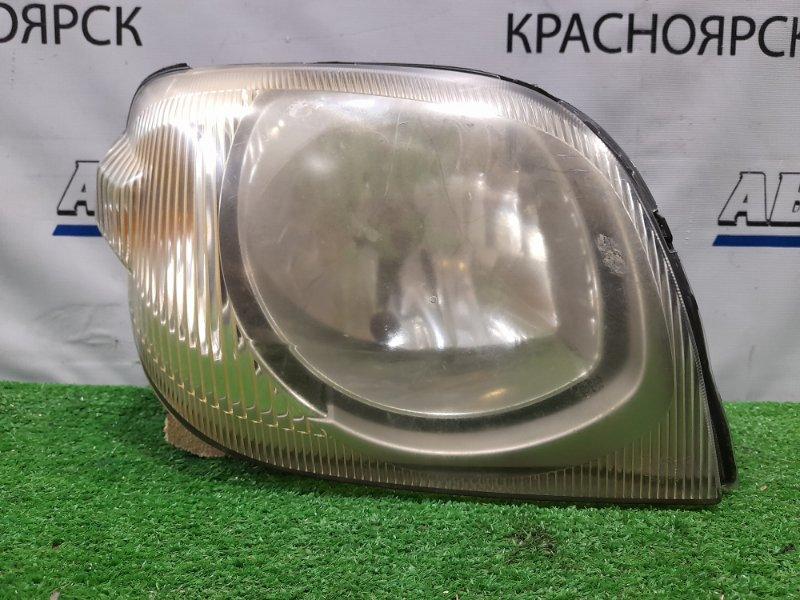Фара Mazda Laputa HP22S K6A 2000 передняя правая P1811 правая, галоген, P1811. под полировку