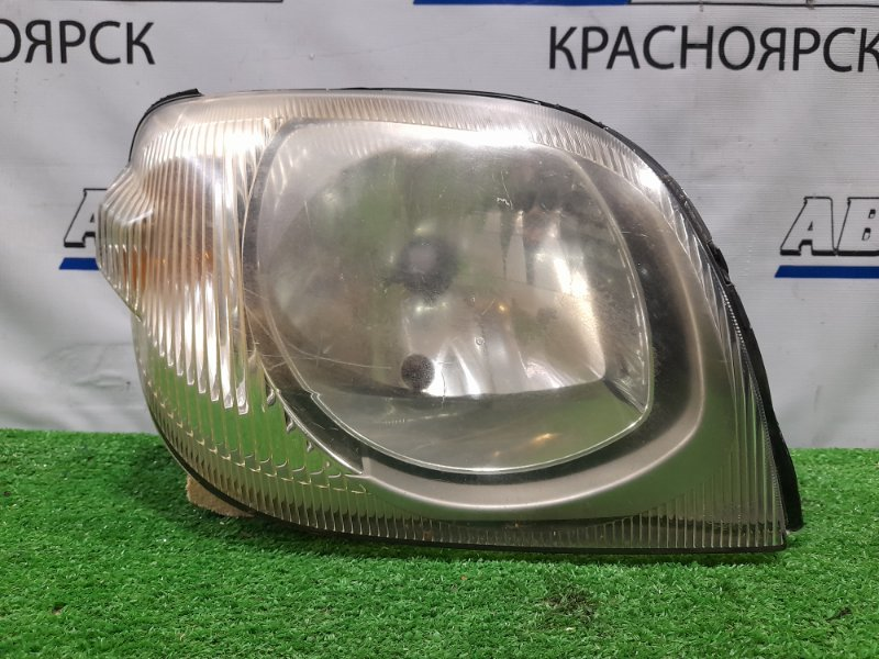 Фара Mazda Laputa HP22S K6A 2000 передняя правая P1811 правая, галоген, P1811, под полировку