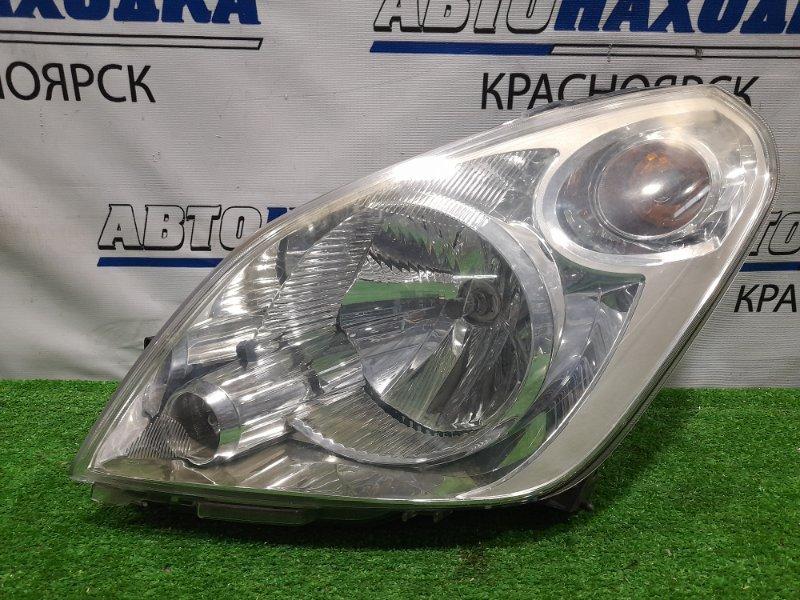 Фара Suzuki Splash XB32S K12B 2008 передняя левая 5759, 5758 левая, галоген, 5759, подломаны 2 крепления (на