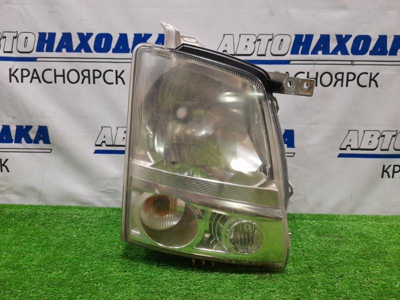 Фара Mazda Az-Wagon MJ22S K6A 2005 передняя правая 100-59051 правая, галоген, с корректором, 100-59051, под