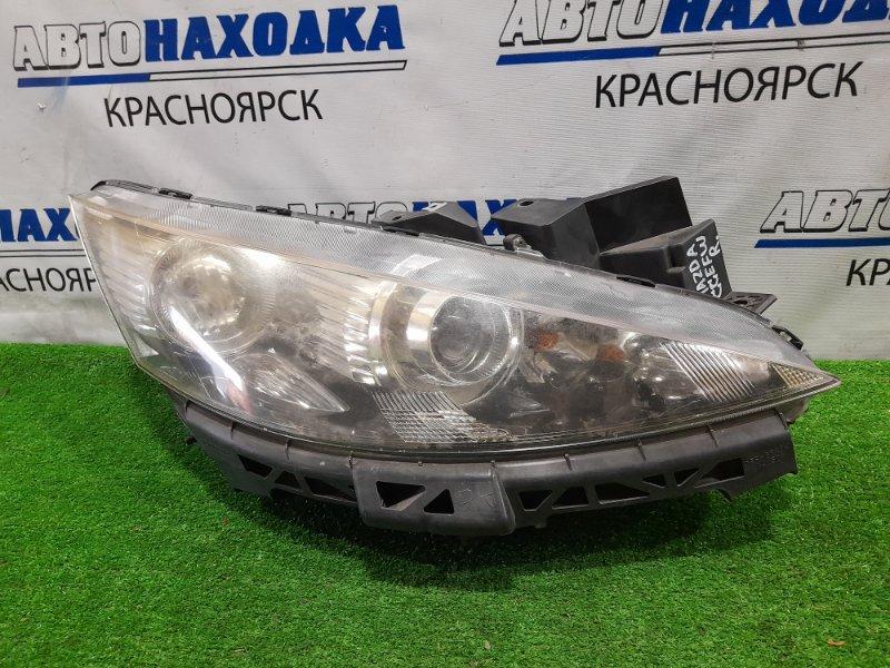 Фара Mazda Biante CCEFW LF-VDS 2008 передняя правая P8161 правая, ксенон в сборе, корректор, с планкой,