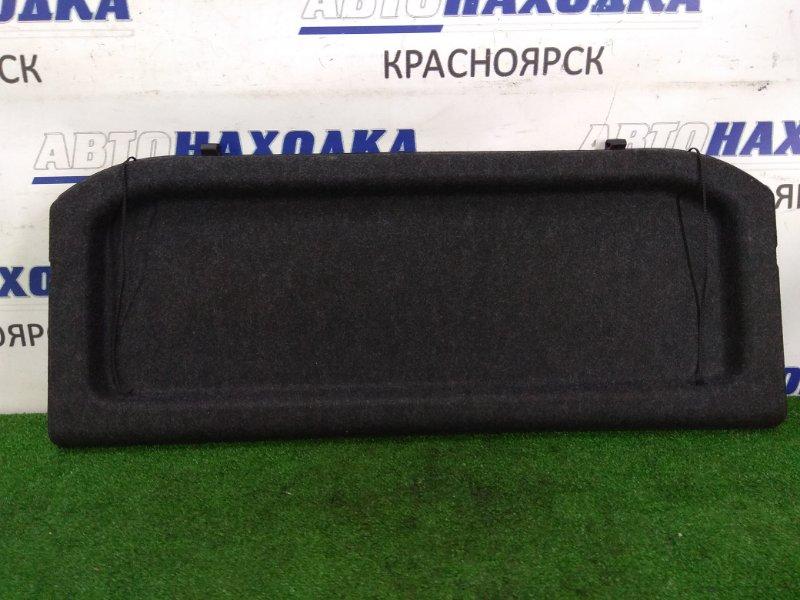 Полка багажника Suzuki Sx-4 YA11S M15A 2006 задняя жесткая, в багажник, черная