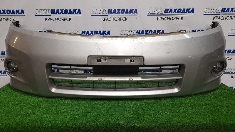 Бампер Nissan Presage PU31 VQ35DE 2006 передний Передний, рестайлинг, с туманками, пошоркан до
