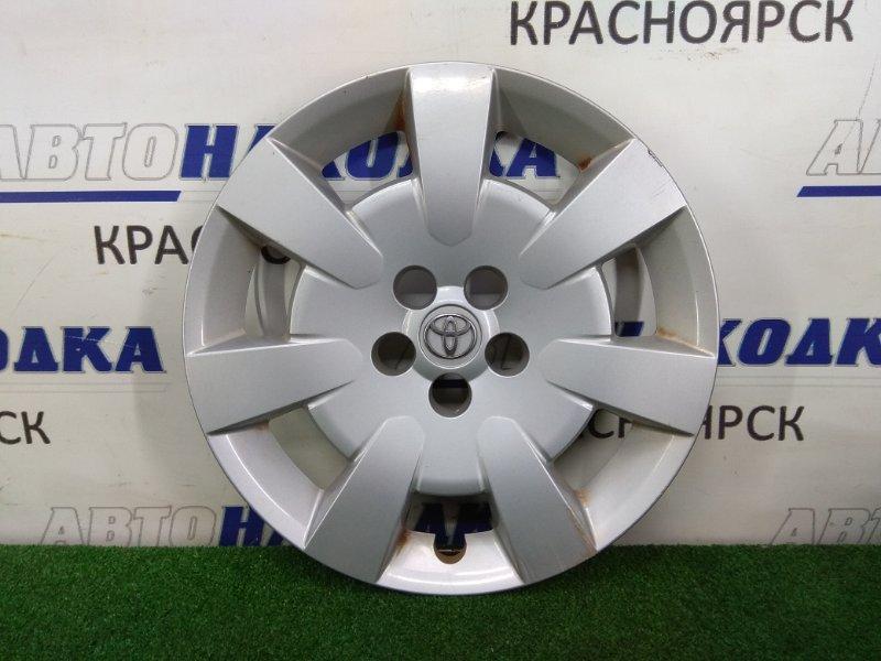 Колпаки колесные Toyota Avensis AZT250W 1AZ-FSE 2003 R16 оригинал, незначительная потертость