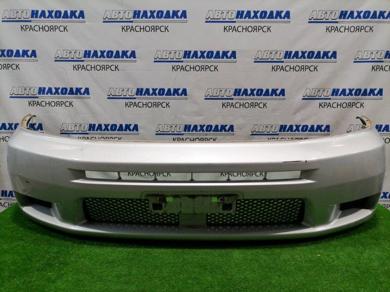 Бампер Mitsubishi Mirage Dingo CQ1A 4G13 2001 передний передний, с заглушками, рестайлинг, пошоркан до