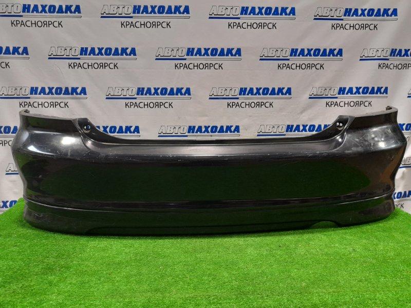 Бампер Honda Civic EU1 D15B 2000 задний Задний, дорестайлинг, с губой, пошоркан до пластика,