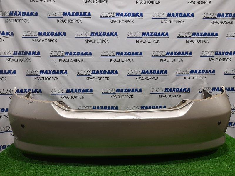 Бампер Honda Fit Aria GD8 L15A 2002 задний Задний, дорестайлинг. Есть пара мелких надрывов,