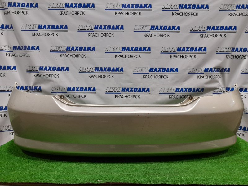 Бампер Honda Fit Aria GD8 L15A 2002 задний Задний, дорестайлинг. Пошоркан, пара вмятин.