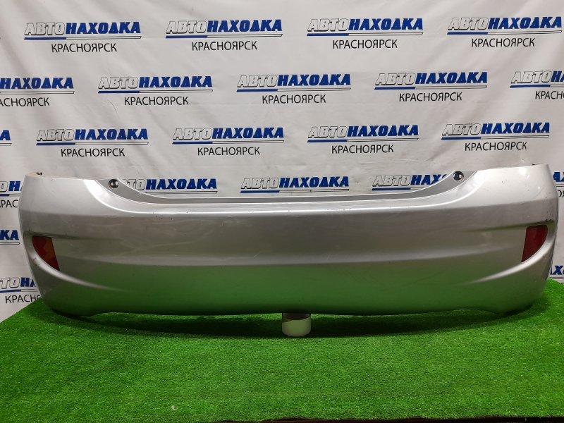 Бампер Honda Civic EU3 D17A 2003 задний Задний, с катафотами, рестайлинг, пошоркан до пластика,
