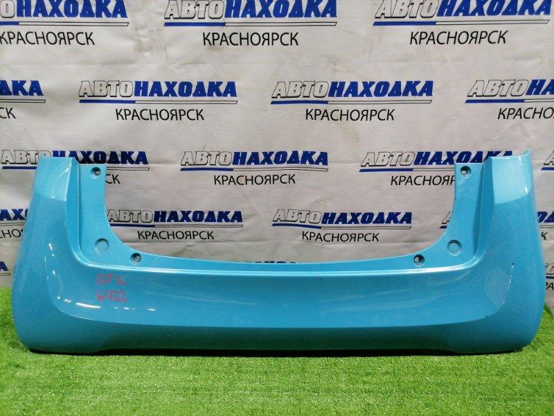 Бампер Honda N-One JG1 S07A 2012 задний задний, пошоркан до пластика, цвет B590M