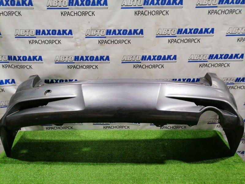 Бампер Honda Stream RN6 R18A 2009 задний Задний, без катафот, без заглушки под крюк, есть надрыв,