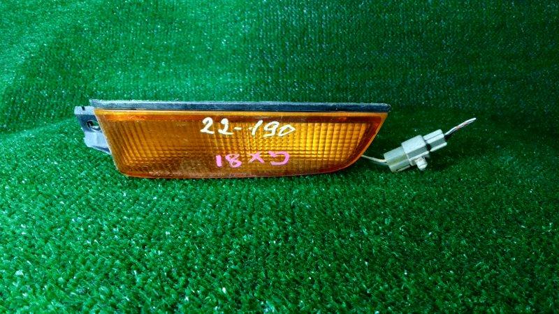 Повторитель в бампер Toyota Mark Ii GX81 1G-FE передний левый 22-190 2MOD. ЛИНЗА