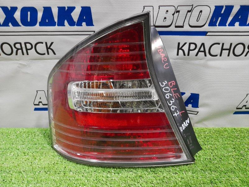 Фонарь задний Subaru Legacy BL5 EJ20 2003 задний левый 220-20806 ХТС, левый, бело-красный полосатый, 1