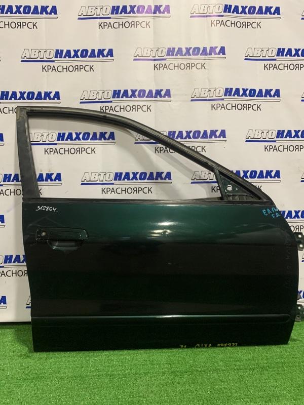Дверь Mitsubishi Legnum EA1W 4G93 1996 передняя правая передняя правая, в сборе, есть потертости,