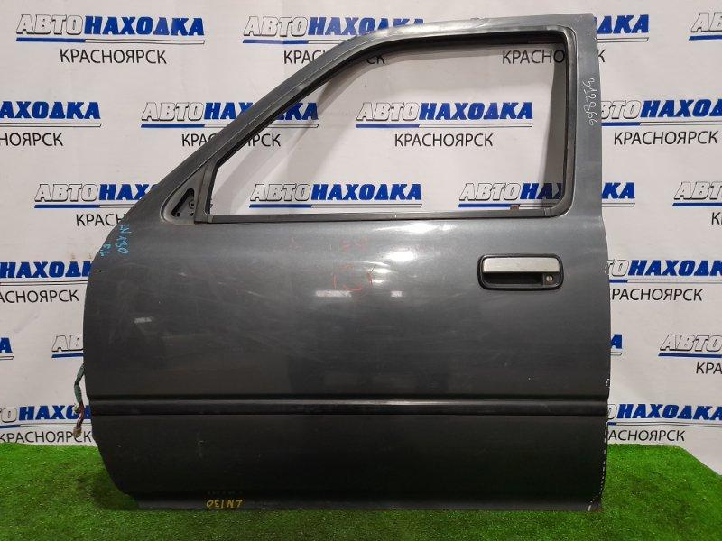 Дверь Toyota Hilux Surf LN130G 2L-TE 1989 передняя левая передняя левая, в сборе, есть потертости,
