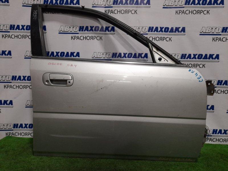 Дверь Honda Ascot CE4 G20A 1993 передняя правая передняя правая, без стеклоподъемника, есть