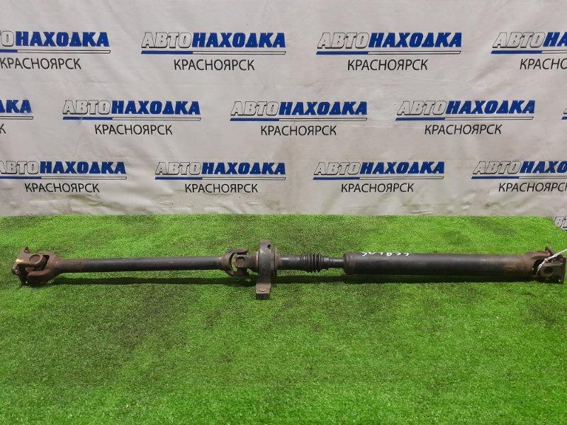 Карданный вал Suzuki Carry DA63T K6A 2002 крестовины под замену, пыльник порван, подвесной ХТС.