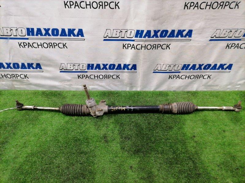 Рейка рулевая Nissan Roox ML21S K6A 2009 в сборе с тягами и наконечниками, Сухая,, дефект