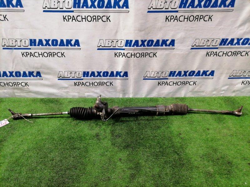 Рейка рулевая Nissan Clipper U71V 3G83 2007 в сборе с тягами и наконечниками, Гидравлическая,