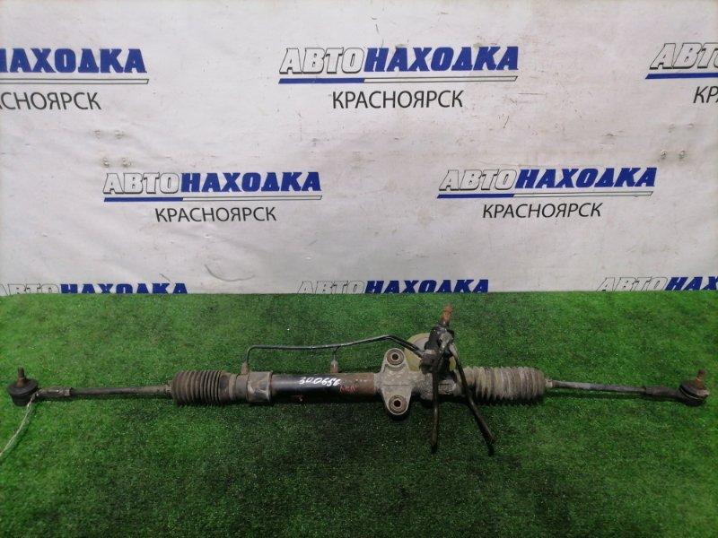 Рейка рулевая Nissan Clipper U71V 3G83 2007 в сборе с тягами и наконечниками, Гидравлическая