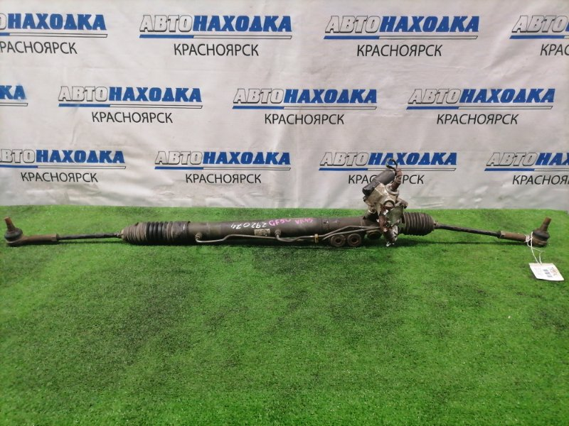 Рейка рулевая Nissan Cima GF50 VK45DE 2001 в сборе с тягами и наконечниками, Гидравлическая, с