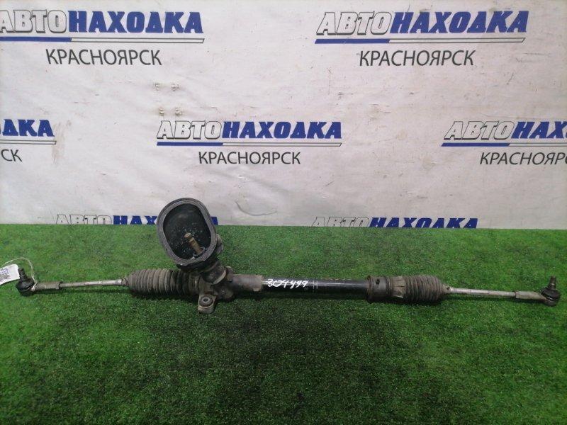 Рейка рулевая Nissan Moco MG33S R06A 2011 в сборе с тягами и наконечниками, сухая