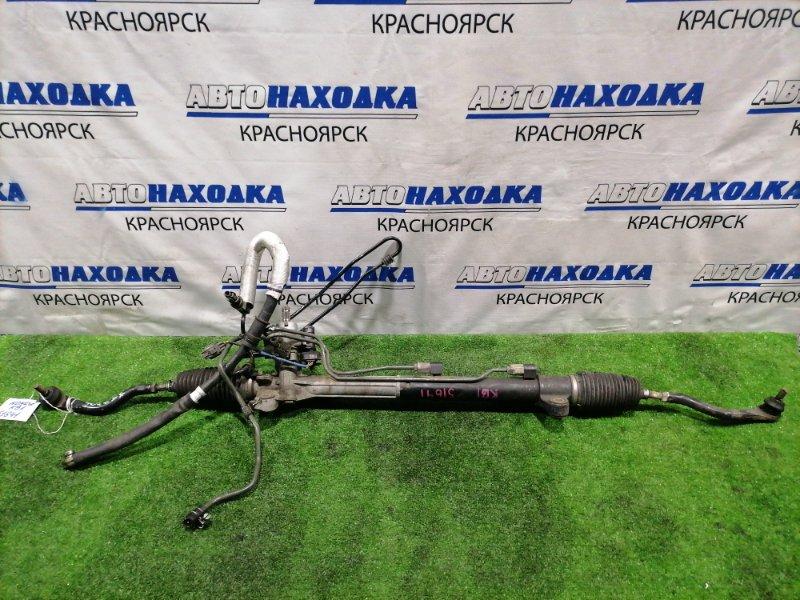 Рейка рулевая Honda Legend KB1 J35A в сборе с тягами и наконечниками, Гидравлическая,