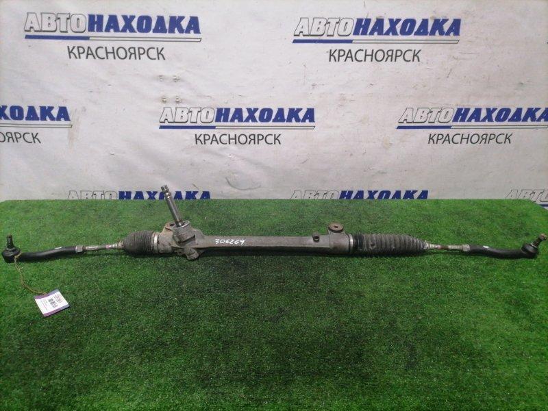 Рейка рулевая Toyota Spade NCP141 1NZ-FE 2012 в сборе с тягами и наконечниками, сухая.