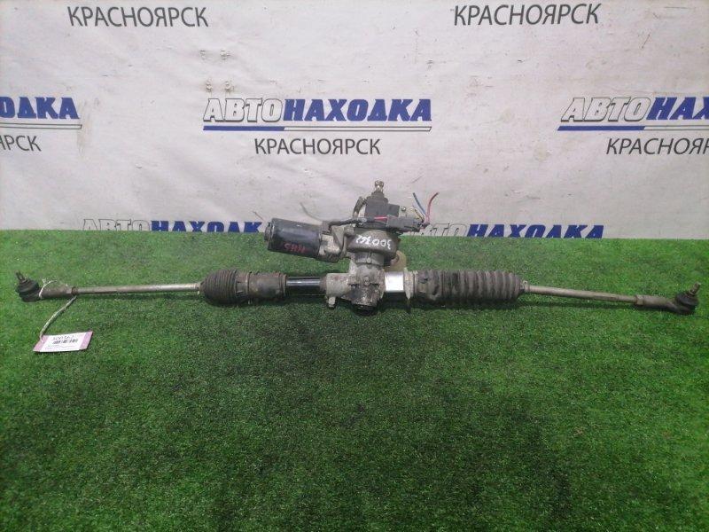 Рейка рулевая Honda Vamos Hobio HM3 E07Z 2003 в сборе с тягами и наконечниками, Электро.