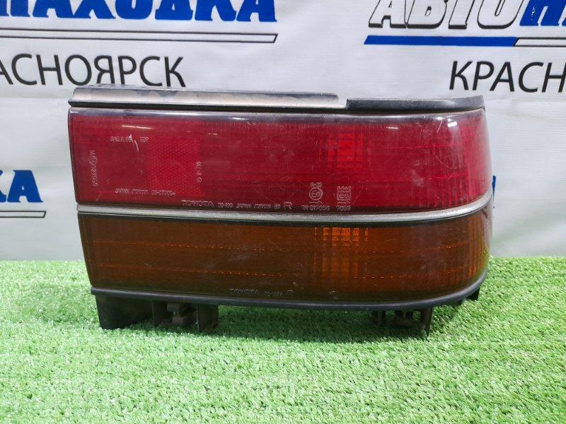 Фонарь задний Toyota Corona ST170 4S-FI 1987 задний правый 20-199 правый, 20-199, / Дорестайлинг.