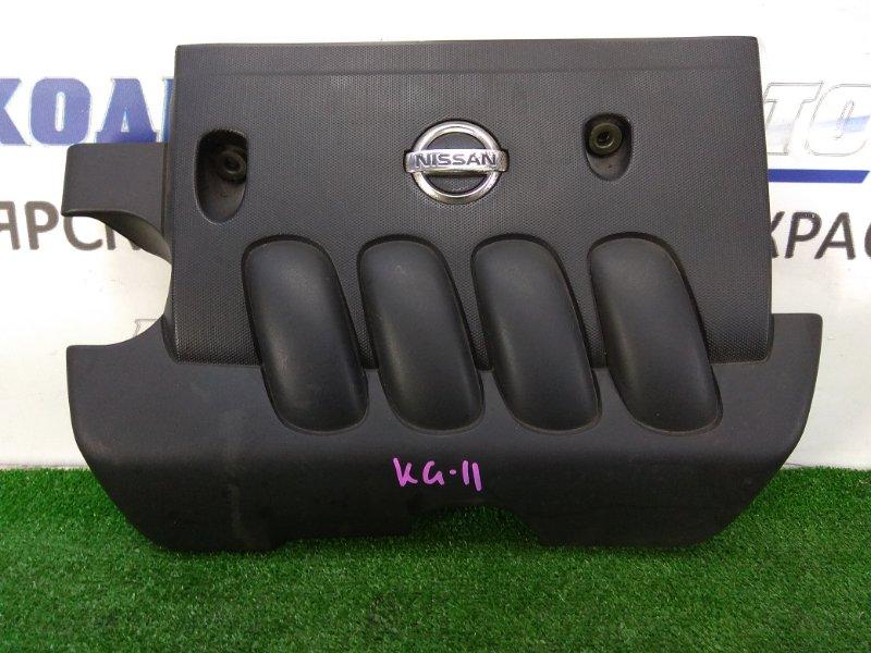 Крышка двигателя Nissan Bluebird Sylphy KG11 MR20DE 2005 пластиковая, декоративная накладка