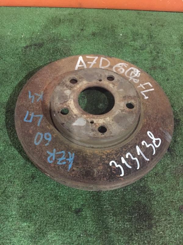 Диск тормозной Toyota Voxy AZR60 1AZ-FSE 2001 передний 275ММ
