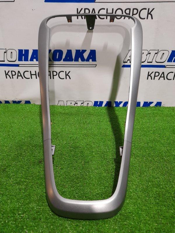 Накладка пластиковая в салон Suzuki Splash XB32S K12B 2008 облицовка центральной консоли, из