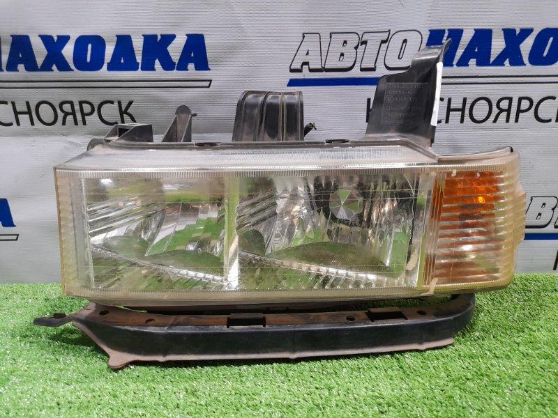 Фара Honda Mobilio Spike GK1 L15A 2002 передняя левая P3127 левая, галоген, дорестайлинг, с планкой, P3127.