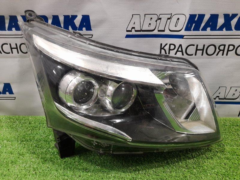 Фара Daihatsu Move LA100S KF-VE 2010 передняя правая 100-51094 правая, с корректором, линзы LED,