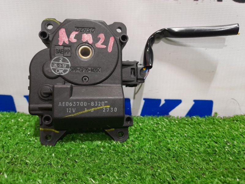Привод заслонок отопителя Toyota Ipsum ACM21W 2AZ-FE 2003 3 контакта.