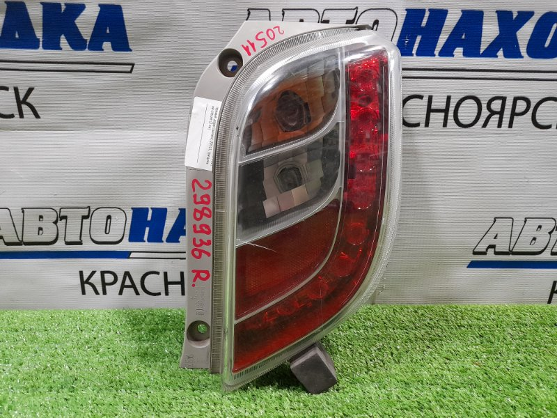 Фонарь задний Daihatsu Mira E:s LA300S KF-VE 2011 задний правый 20511 правый, дорестайлинг, 20511, трещина