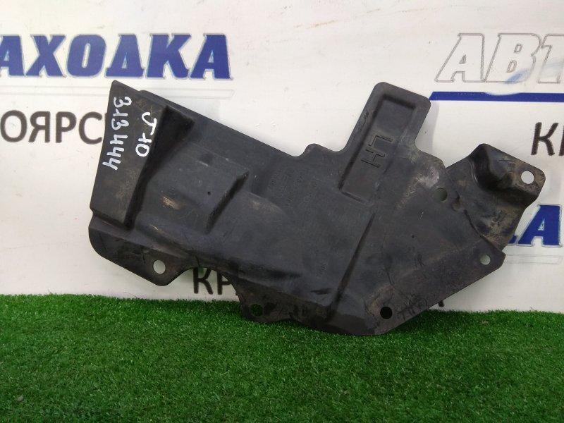 Защита двс Nissan Qashqai J10 MR20DE 2007 передняя левая левая боковая