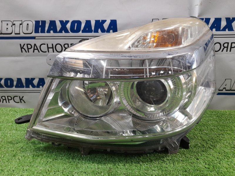 Фара Honda Life JC1 P07A 2010 передняя левая W0123 левая, галоген, с корректором, W0123, рестайлинг,