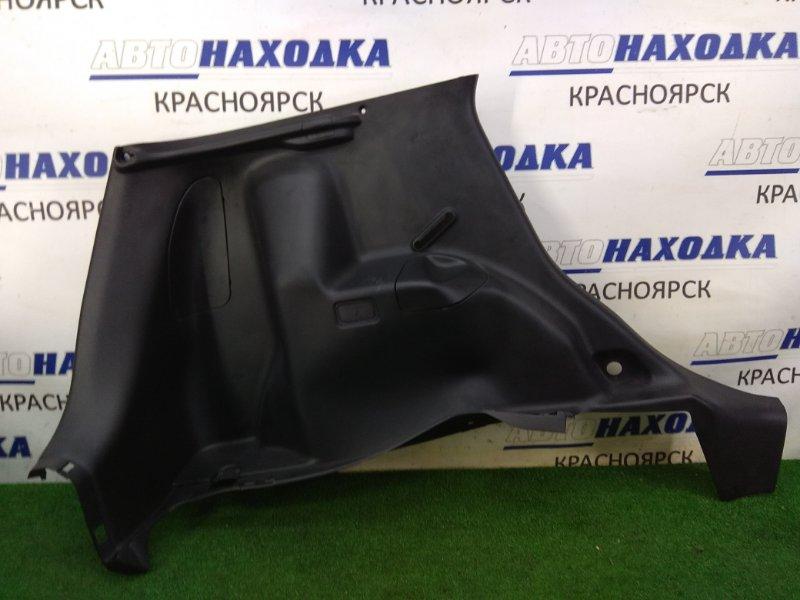 Обшивка багажника Honda Fit GD1 L13A 2001 задняя левая задняя левая, черная, в целом ХТС / под