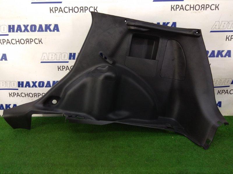 Обшивка багажника Honda Fit GD1 L13A 2001 задняя правая задняя правая, черная, в целом ХТС / под