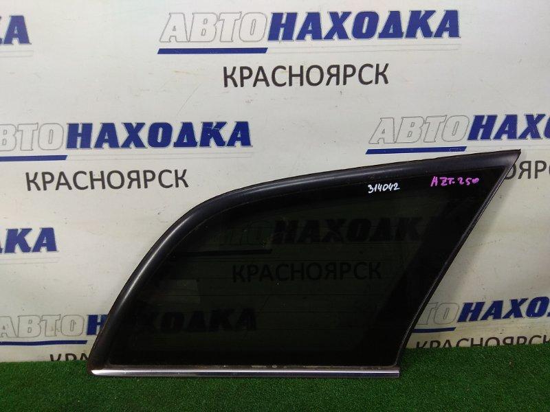 Стекло собачника Toyota Avensis AZT250W 1AZ-FSE 2003 заднее правое заднее правое, заводская