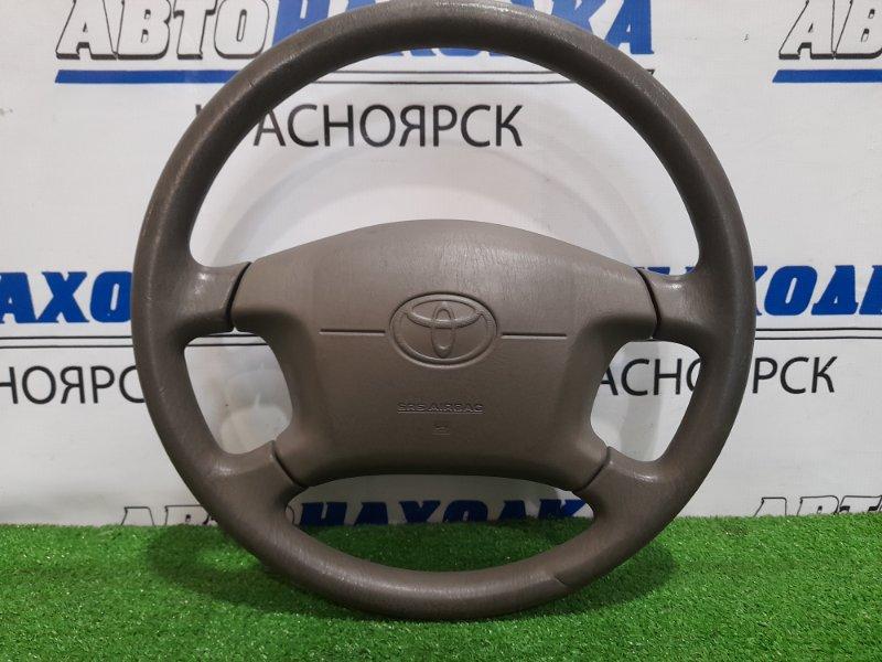 Airbag Toyota Gaia ACM10G 1AZ-FSE 2001 водительский с рулем, рестайлинг, с подушкой, без